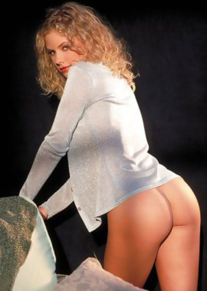 Sweet and young Kaiya with nice blonde curly locks